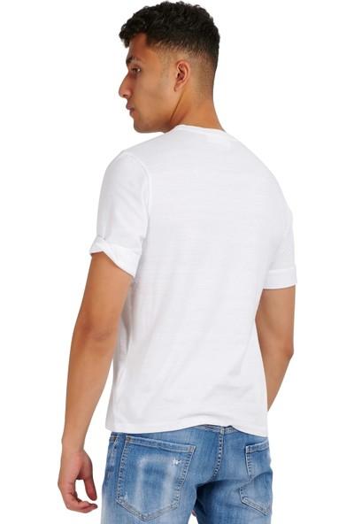 Neil Barrett Erkek T-Shirt PBJT812S-P530S-1141