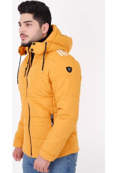 Stil Kombin Pooldeep Soft Omuz Şeritli Kapşonlu Şişme Mont 2884