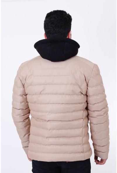 Stil Kombin Wous Polar Kapşonlu Petekli Şişme Mont
