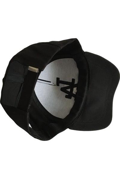 Outlet Çarşım La Nakışlı Erkek Siyah Şapka