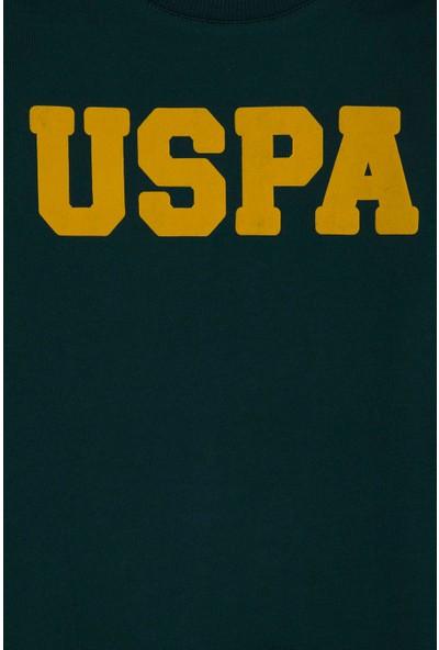 U.S. Polo Assn. Erkek Çocuk Yesıl Sweatshirt Basic 50225284-VR079