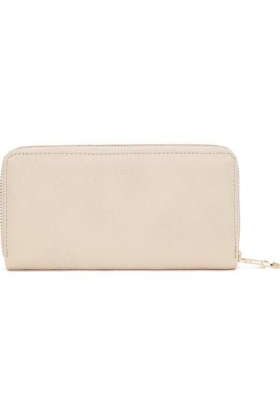 U.S. Polo Assn. Kadın Beyaz Portmone 50229137-VR011