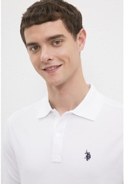 U.S. Polo Assn. Erkek Beyaz Sweatshirt Basic 50225335-VR013
