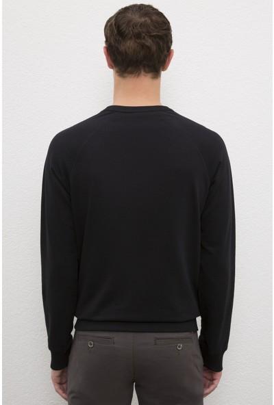 U.S. Polo Assn. Erkek Siyah Sweatshirt Basic 50225343-VR046