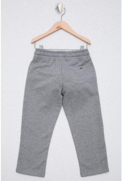 U.S. Polo Assn. Erkek Çocuk Gri Örme Pantolon 50225927-VR086