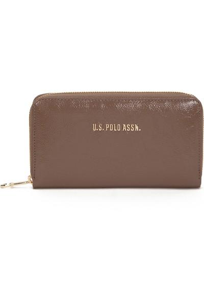 U.S. Polo Assn. Kadın Kahverengi Portmone 50229027-VR052