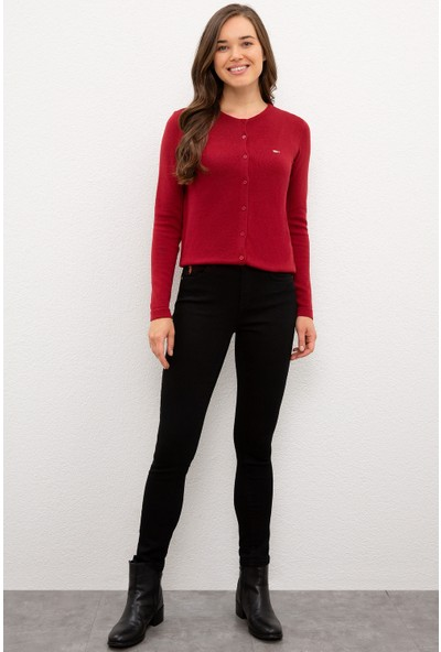 U.S. Polo Assn. Kadın Siyah Denim Pantolon 50226013-DN0027