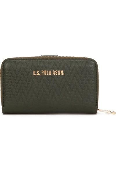 U.S. Polo Assn. Kadın Yeşil Portmone 50228684-VR027