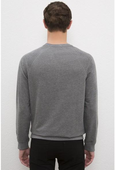 U.S. Polo Assn. Erkek Gri Sweatshirt Basic 50225343-VR081