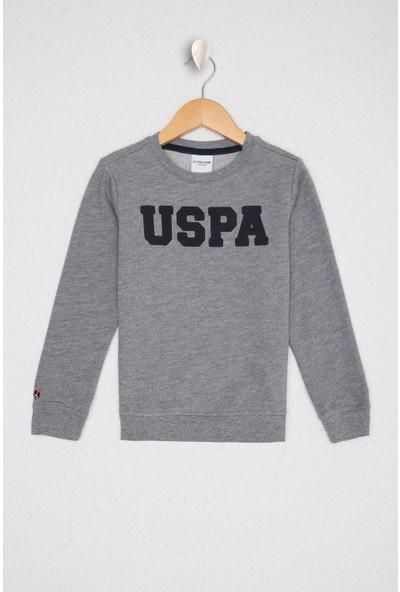 U.S. Polo Assn. Erkek Çocuk Gri Sweatshirt Basic 50225284-VR086
