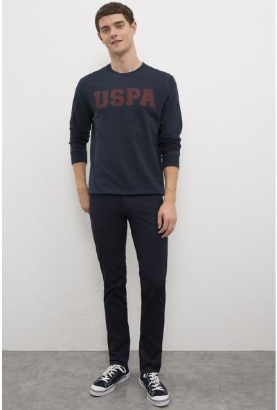 U.S. Polo Assn. Erkek Lacivert Sweatshirt Basic 50225478-VR033