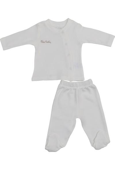 Pierre Cardin Bebek Takımı Ekru