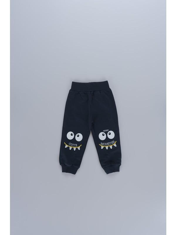 Markosin Interaktif Baskılı Tek Alt Erkek Çocuk Pantolon 5463