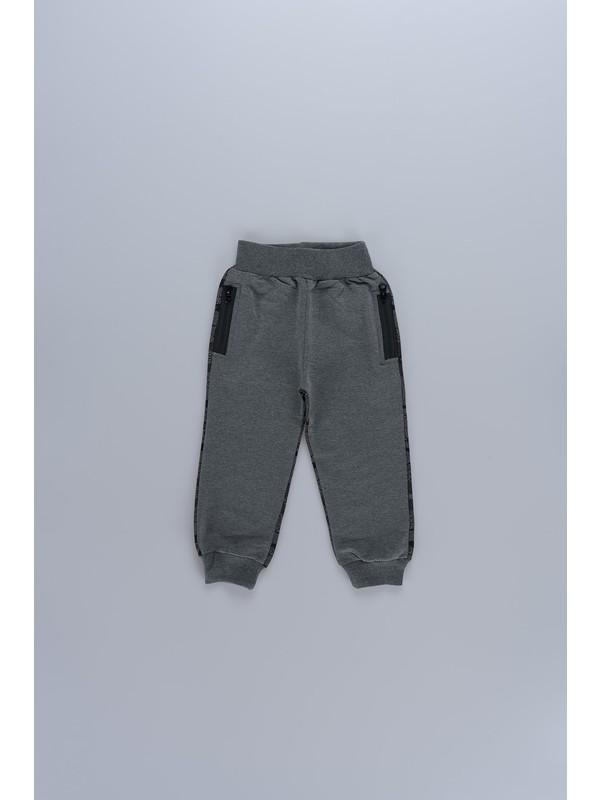 Markosin Kamuflaj Desenli Erkek Çocuk Tek Alt Pantolon 5423