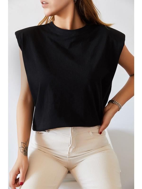 Xhan Vatkalı Basic Tişört 0YXK2-43401-02
