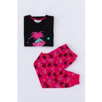 Penti Çok Renkli Kız Çocuk Trolls Rock Star 2'li Pijama Takımı