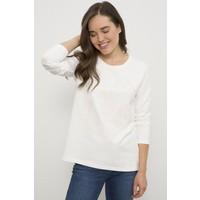 U.S. Polo Assn. Kadın Beyaz Sweatshirt 50228456-VR019