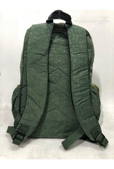 Kavi Kadın Krınkıl Sırt Çantası Büyük Boy Ebat 45CM38CM Yeşil
