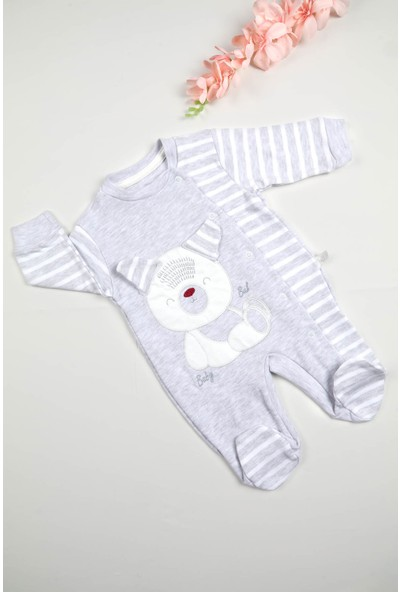 Babybal Baby Ayılı Bal Tulum