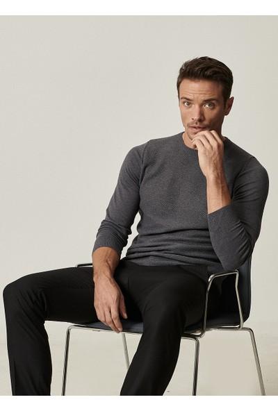 Altınyıldız Classics Slim Fit Dar Kesim Beli Lastikli Yan Cep Kışlık Klasik Pantolon