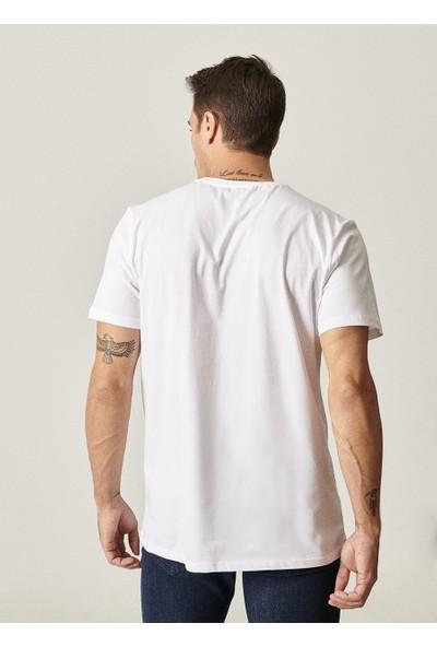 Altınyıldız Classics Slim Fit Bisiklet Yaka 3'lü Koton T-Shirt Paketi