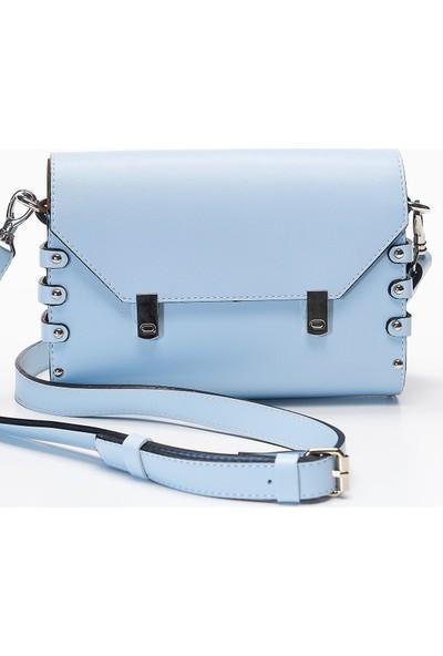Louis Roxy Mavi Kadın Omuz Çantası