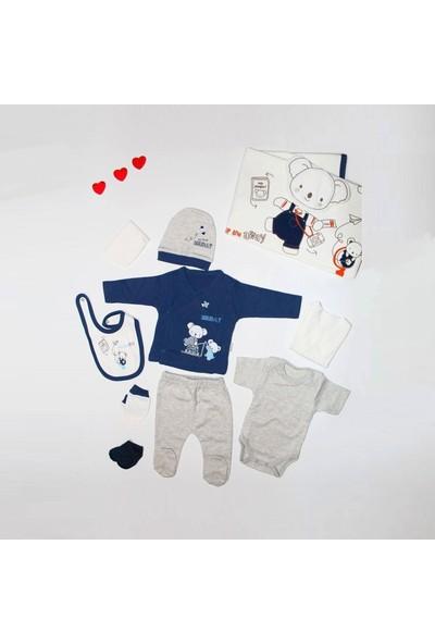 Sebi 9174 Erkek Bebek Koala 10'lu Hastane Çıkış Seti