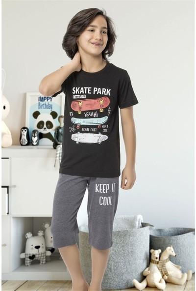 Hmd 5458 Cool Erkek Çocuk Pamuklu Kapri Takım