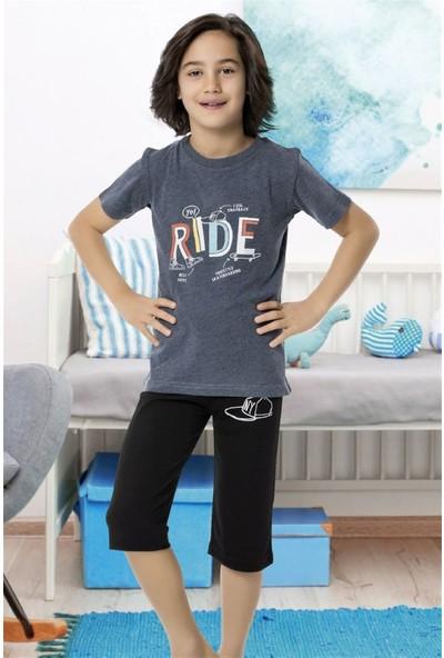 Hmd 5460 Ride Erkek Çocuk Pamuklu Kapri Takım