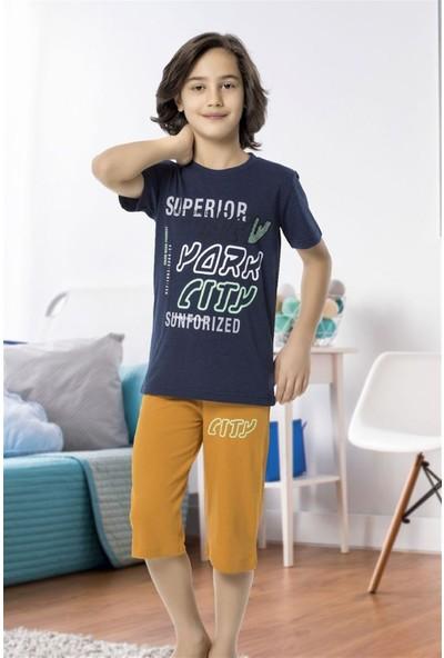 Hmd 5469 Superior Erkek Çocuk Pamuklu Kapri Takım