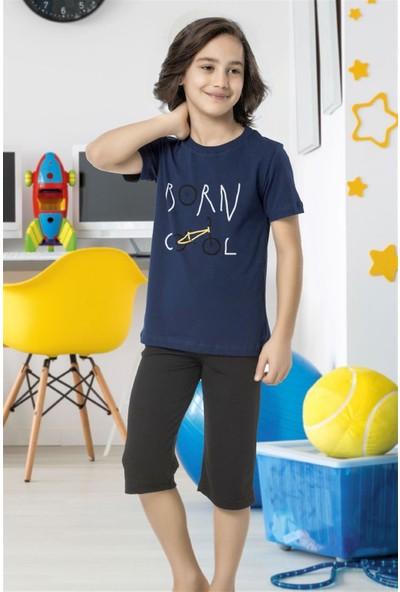 Hmd 5478 Born Cool Erkek Çocuk Pamuklu Kapri Takım