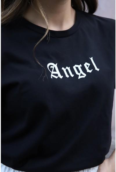 Melinka Butik Angel Ikili Takım - Beyaz Siyah