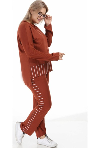 Mezura Tekstil Ikili Takım Tarçın 46 - 48
