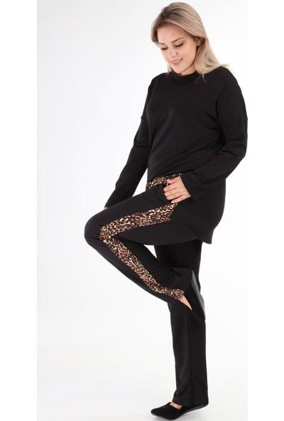 Mezura Tekstil Iki Iplik Takım Siyah 42 - 44