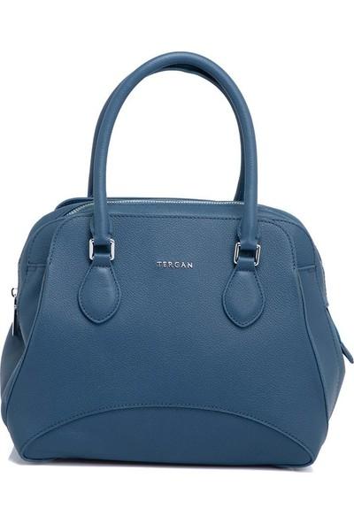 Tergan Mavi Kadın Çanta 79562H2A