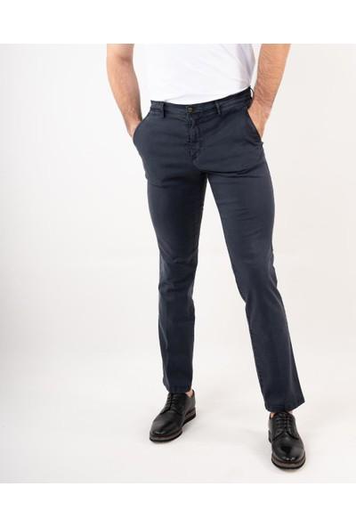 Ecer Regular Fit Kışlık Erkek Gabardin Pantolon Lacivert 52