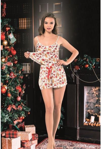 Vip Madame Kadın Noel Yıl Başı Babydoll