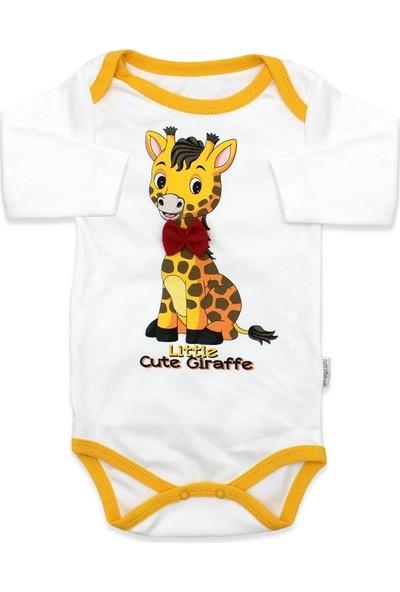 Mini Bird Zürafalı 3 Lü Bebek Takımı K1842