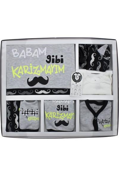 Miniworld Babam Gibi Karizmayım 10 Lu Yenidoğan Bebek Hastane Çıkışı Seti K3289
