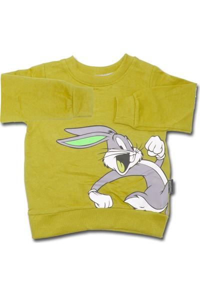 Ram Çocuk Tavşanlı Hardal Sarısı 2 Li Çocuk Takımı K3347