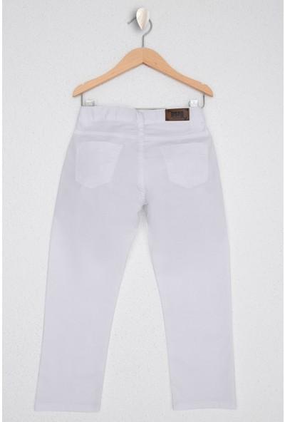 U.S. Polo Assn. Erkek Çocuk Beyaz Chinos 50219475-VR013