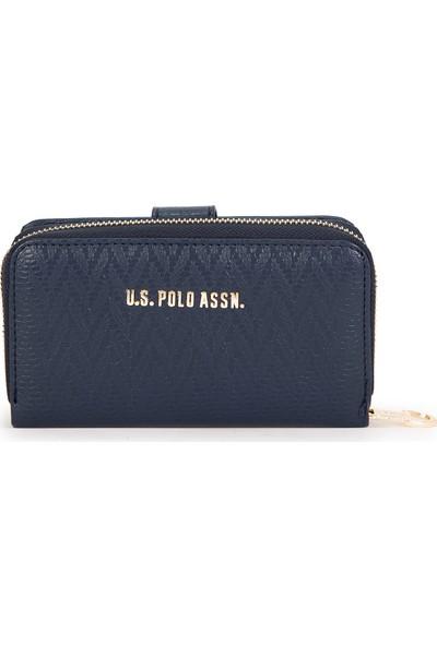 U.S. Polo Assn. Kadın Lacivert Portmone 50228684-VR033
