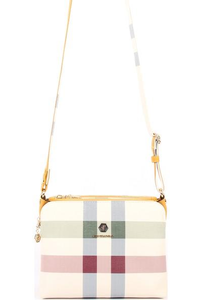 Silver & Polo Kadın Çanta Krem Rengi 0Silw2020781Wb35