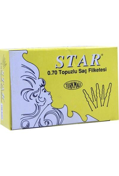 Star Firkete Sarı 150 Adet NO:070