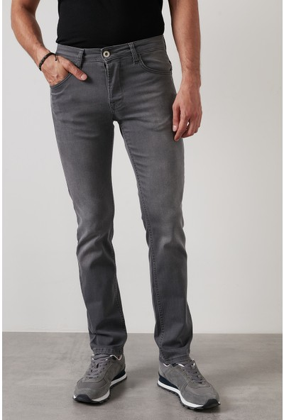Buratti Regular Fit Boru Paça Pamuklu Jeans Erkek Kot Pantolon 7283F987PORTO
