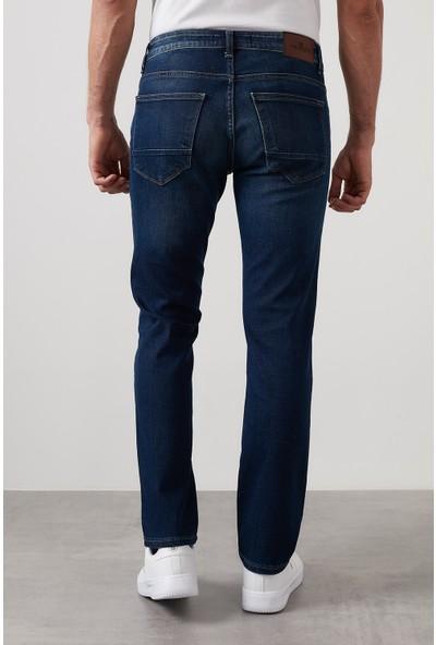 Buratti Regular Fit Boru Paça Pamuklu Jeans Erkek Kot Pantolon 7420S158PORTO
