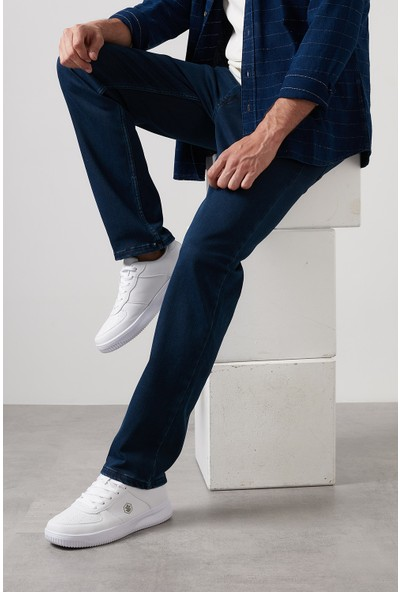 Buratti Yüksek Bel Regular Fit Pamuklu Jeans Erkek Kot Pantolon 7421S9601KING