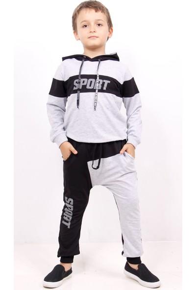 Toontoy Erkek Çocuk Sport Baskılı Eşofman Takım