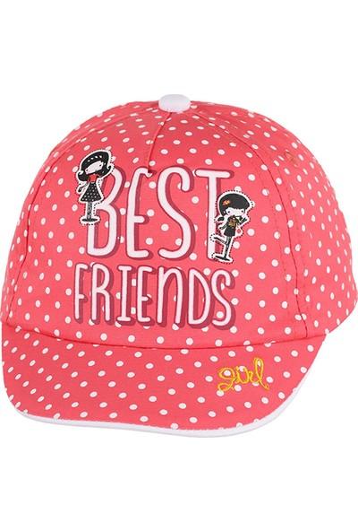 Kitti Kız Çocuk Şapka 1-4 Yaş Narçiçeği