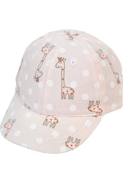 Kitti Kız Çocuk Şapka 1-4 Yaş Pembe